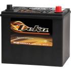 Deka Premium 12-Volt 450 CCA Automotive Battery, Top Post Right Front Positive Terminal Image 1