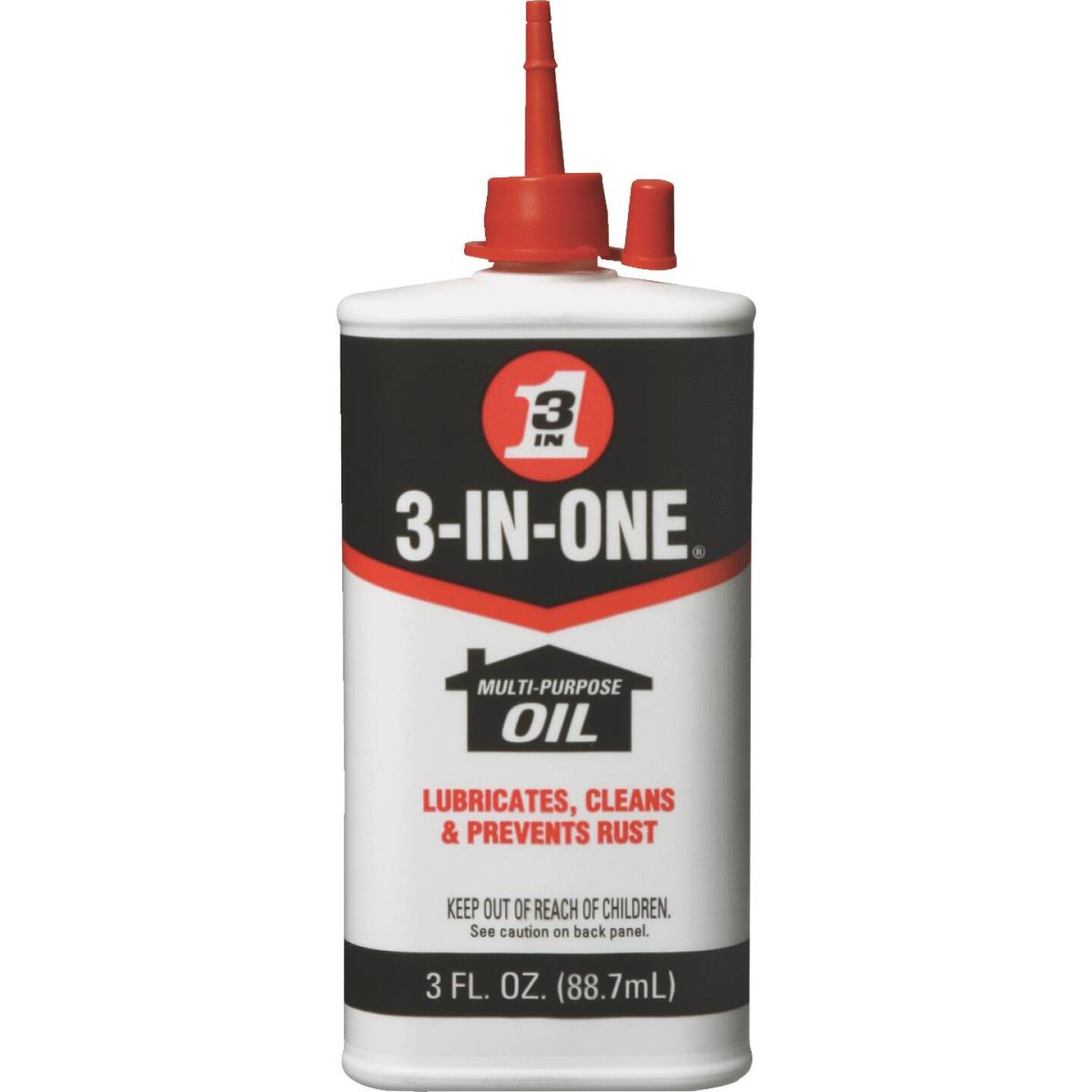 3-IN-ONE 3 Oz. Drip Bottle Household Oil Image 1
