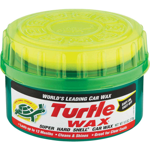 Turtle Wax Super Hard Shell Paste 9.5 Oz. Car Wax