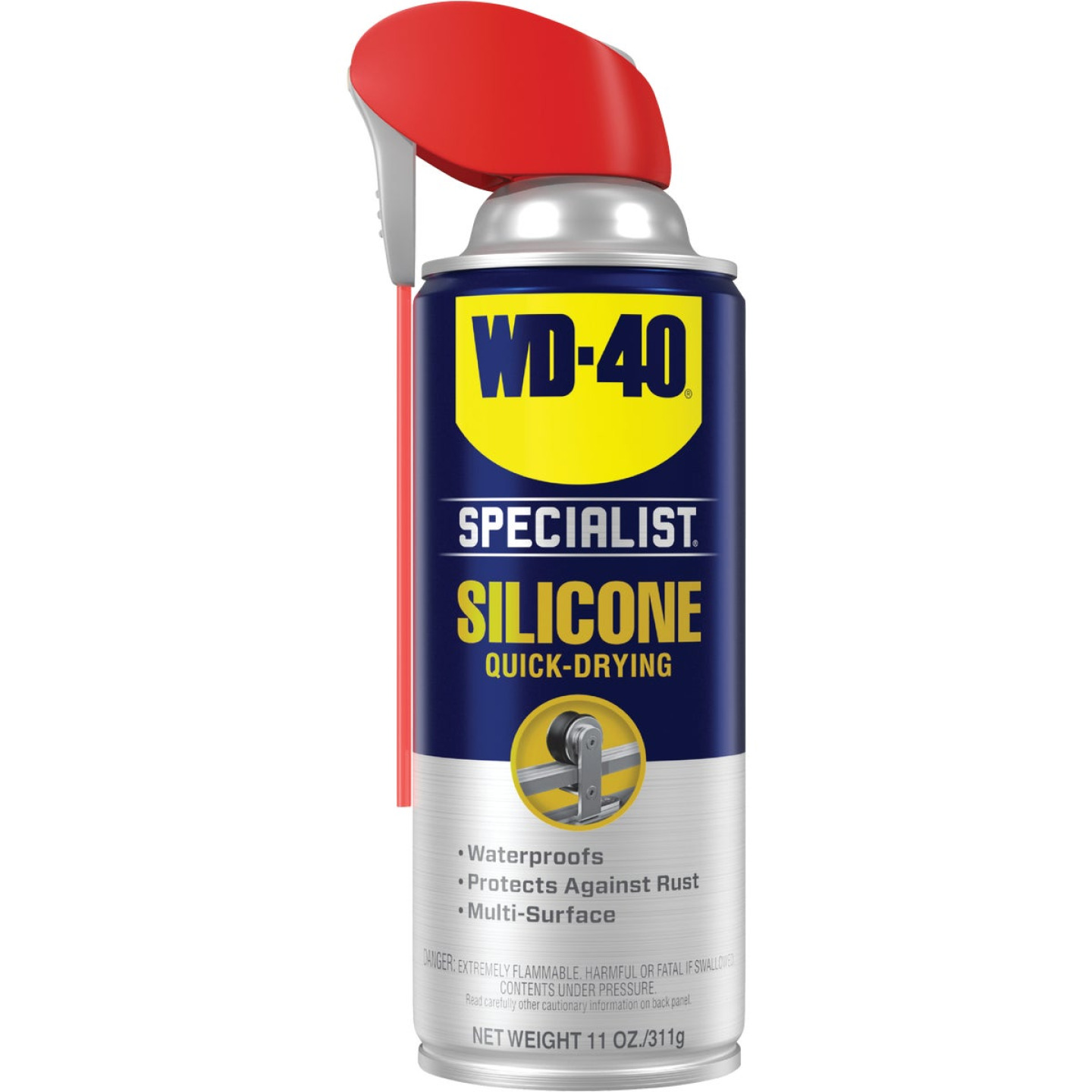 WD-40 Specialist 11 Oz. Aerosol Water-Resistant Silicone Lubricant Image 1