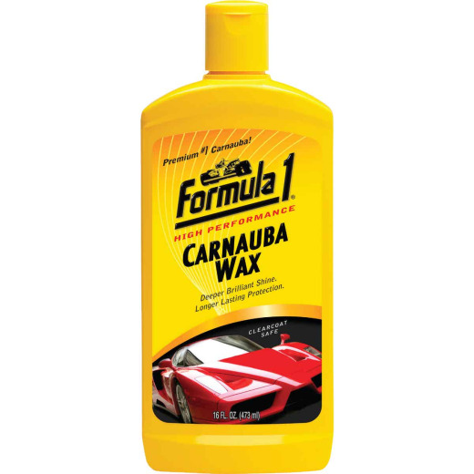 Formula 1 16 Oz. Liquid Carnauba Car Wax