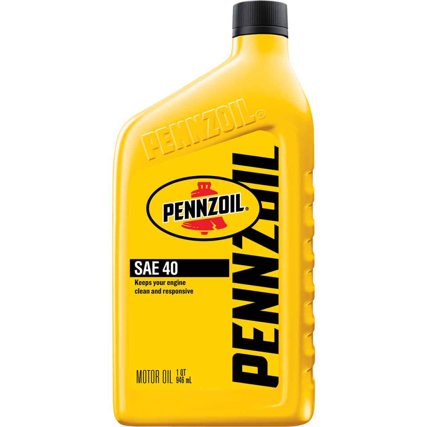 Pennzoil 40W Quart Heavy-Duty Motor Oil Image 1