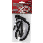 Erickson 1 In. x 24 In. Industrial Bungee Cord with Carabiner Hooks, Black Image 2