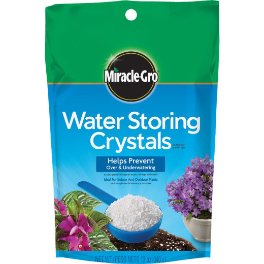 Miracle-Gro 12 Oz. Water Storing Crystals Soil Moist Granules