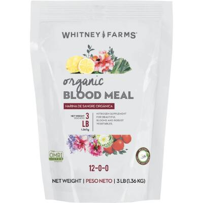 Whitney Farms 3 Lb. 12-0-0 Natural Blood Meal