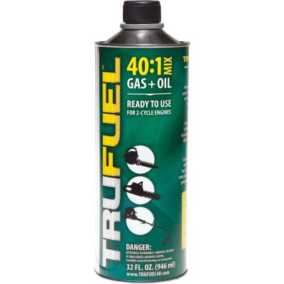 TruFuel 32 Oz. 40:1 Ethanol-Free Small Engine Fuel & Oil Pre-Mix