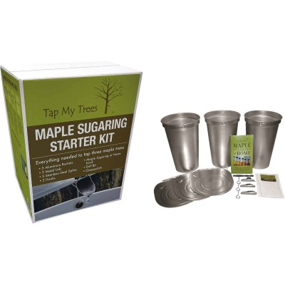 Tap My Trees Maple Sugaring Aluminum & Stainless Steel Starter Kit