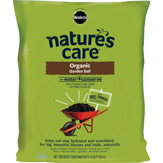 Miracle-Gro Nature's Care 1.5 Cu. Ft. 49 Lb. All Purpose Organic Garden Soil