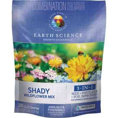 Earth Science  All-In-One 2 Lb. 200 Sq. Ft. Coverage Shady Wildflower Seed Mix