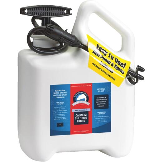 Bare Ground 1 Gal. Liquid Ice Melt System with Pump Sprayer