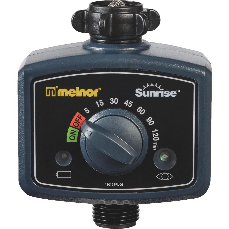 Melnor Sunrise Electronic 1-Zone Water Timer Image 4