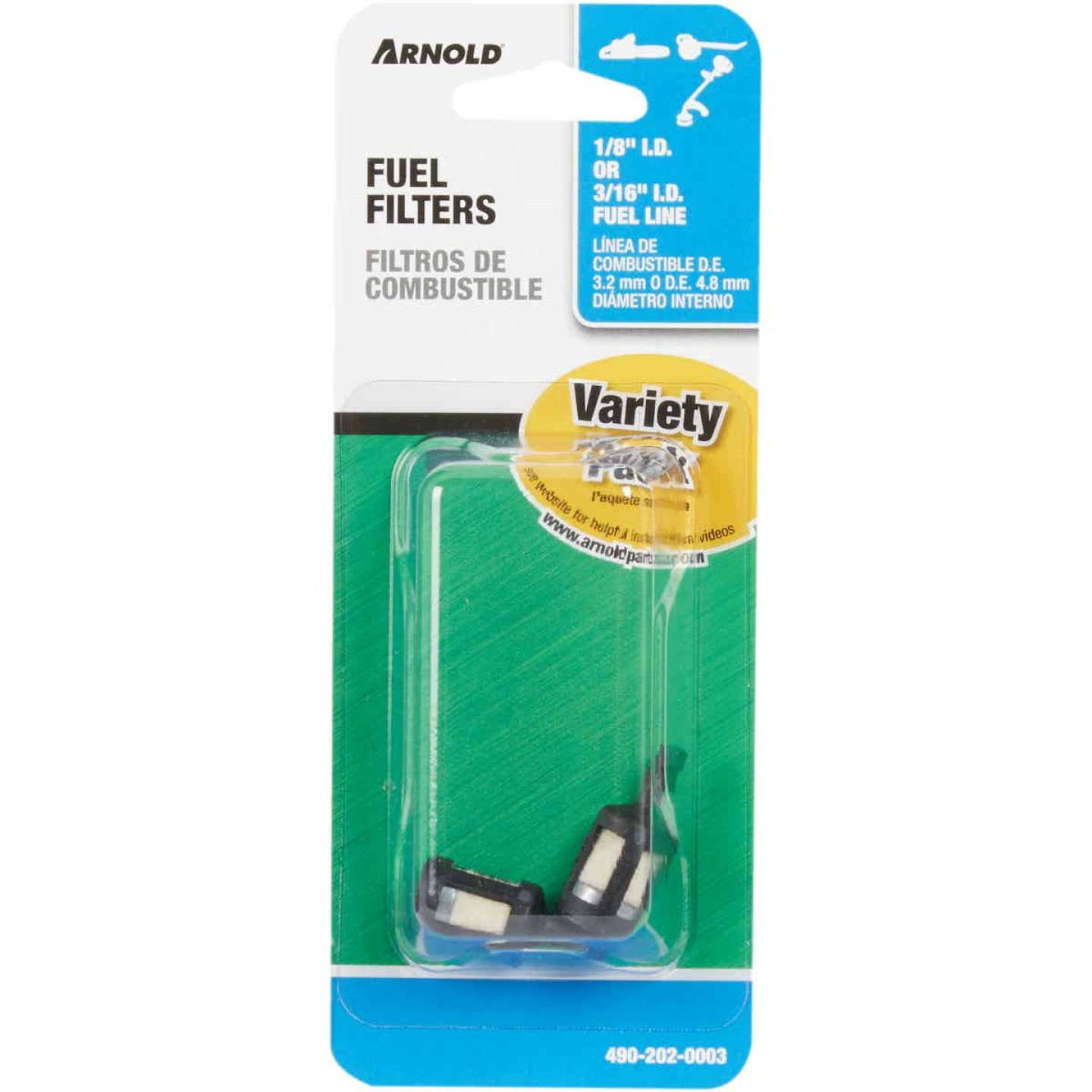 Arnold 2-Cycle Fuel Filter (2 Pack) Image 2