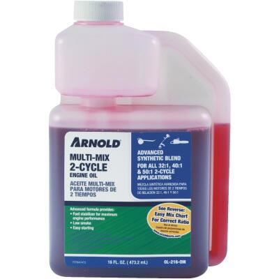 Arnold 16 Oz. Synthetic Blend Multi-Mix 2-Cycle Motor Oil