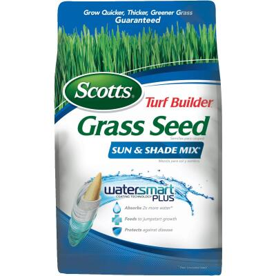 Scotts Turf Builder 7 Lb. Up To 2800 Sq. Ft. Coverage Sun & Shade Grass Seed