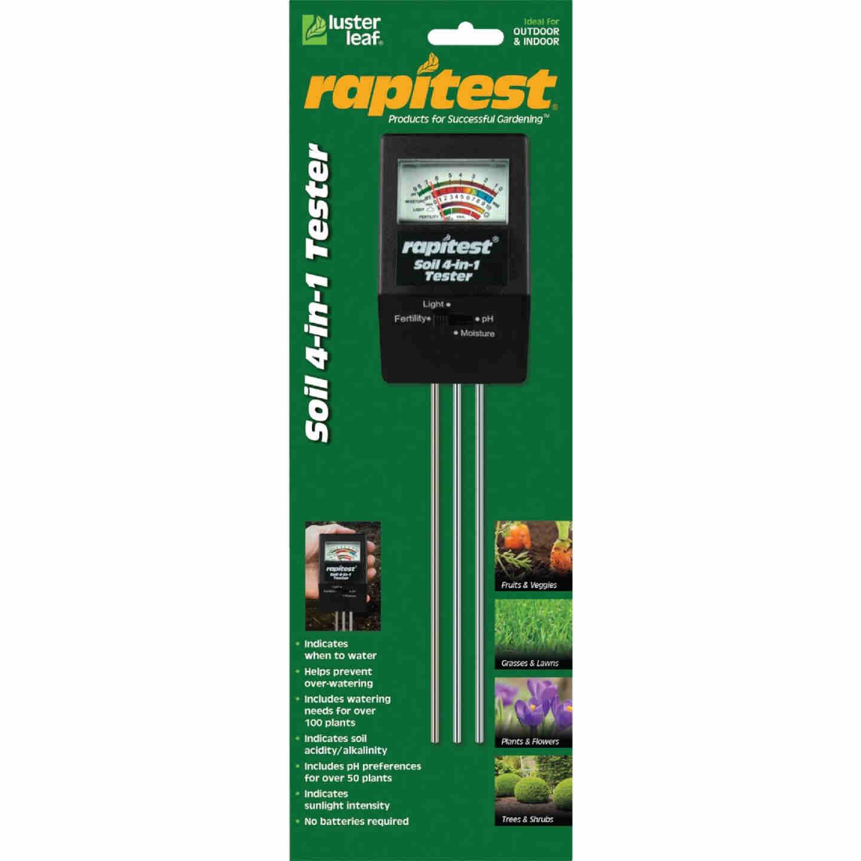 Rapitest Plastic 4-In-1 Mini Soil Tester Image 1