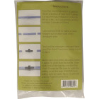 CDL 5/16 In. Maple Line Flat Connector (12-Pack) Image 2