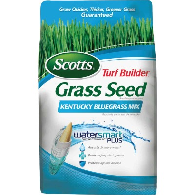 Scotts Turf Builder 3 Lb. Up To 2000 Sq. Ft. Coverage Kentucky Bluegrass Grass Seed