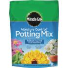 Miracle-Gro Moisture Control 8 Qt. 6-1/2 Lb. Indoor & Outdoor Potting Soil Image 1