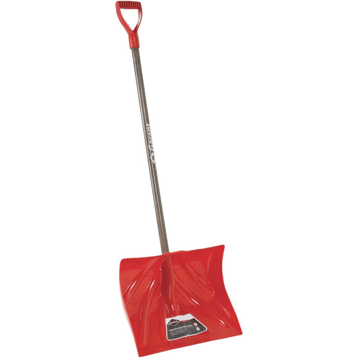 Garant Nordic 18 In. Poly Snow Shovel & Pusher with 42.25 In. Wood Handle Image 1