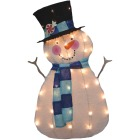 Product Works 32 In. Incandescent Snowman Holiday Figure Image 1